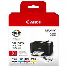 Μελάνι Canon PGI-1500XL BK/C/M/Y Multipack 9182B004AA